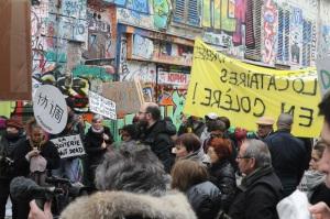 19 mars 2016.rue Dénoyez