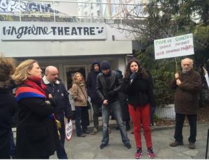 19 mars 2016.Vingtième théâtre